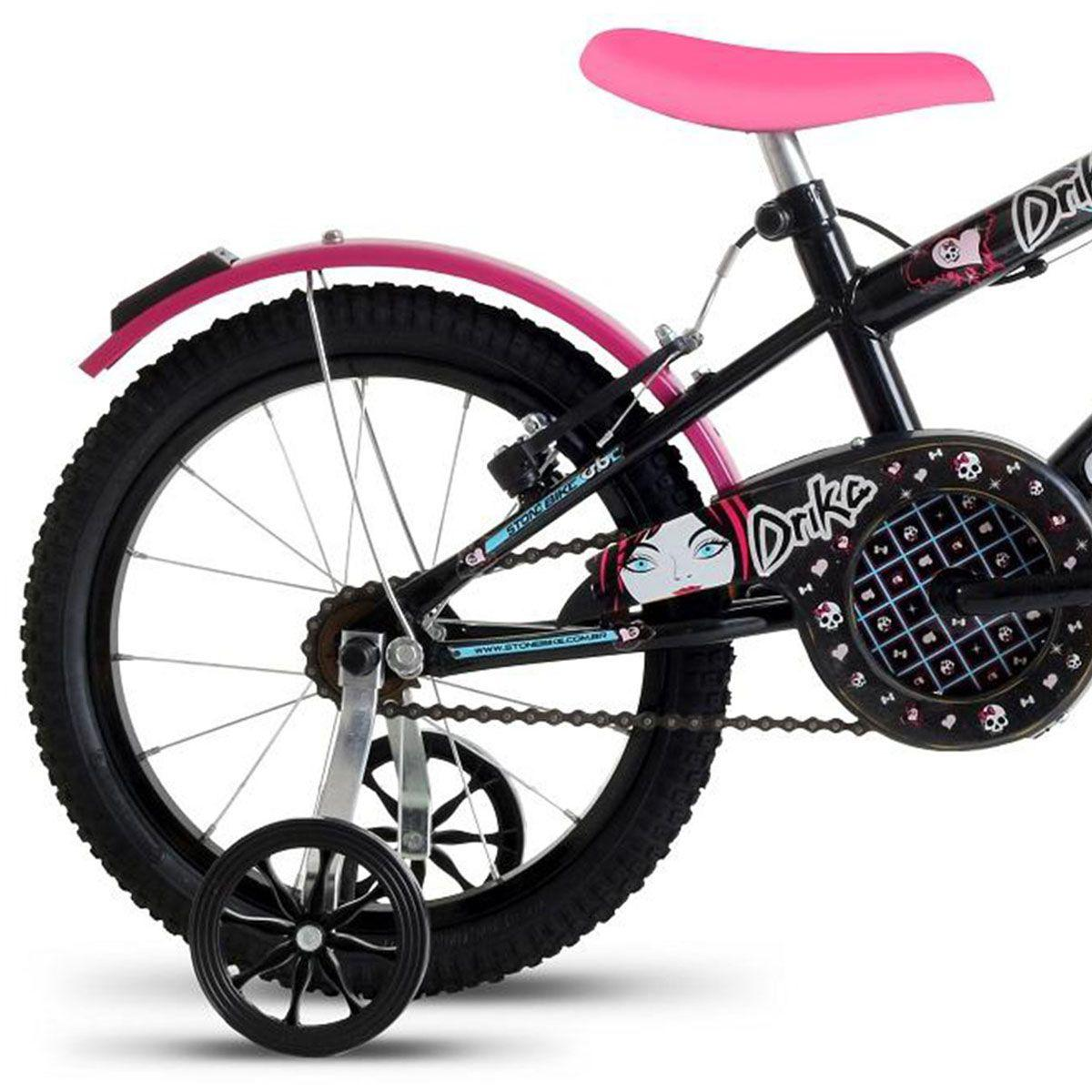 1643d8aa6 Bicicleta Infantil Feminina Drika Aro 16 Stone Bike - Stone bikes Produto  não disponível