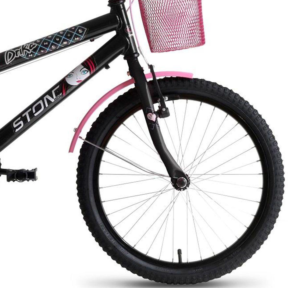 a11a4f241 Bicicleta Infantil Feminina Drika Aro 20 Stone Bike - Stone bikes R   1.367