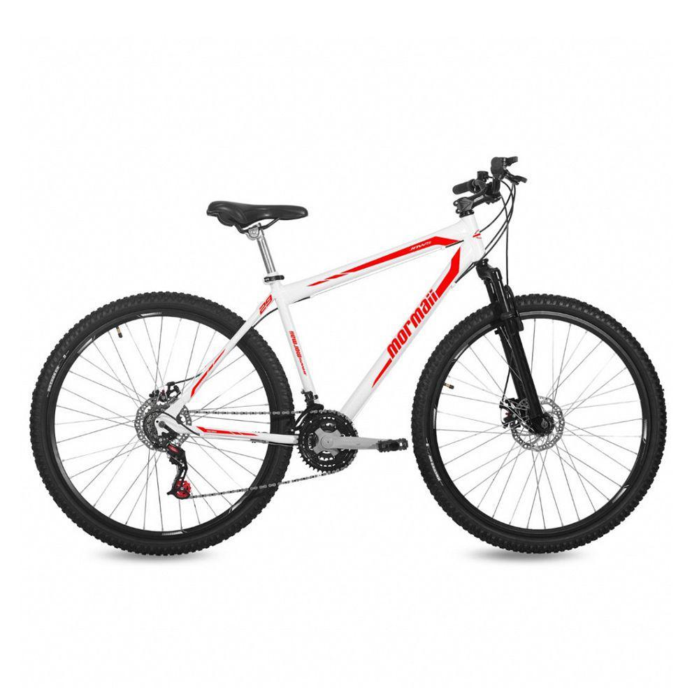 Bicicleta Mormaii aro 29 BRANCO-VERMELHO - Bicicleta - Magazine Luiza 67798cc93c