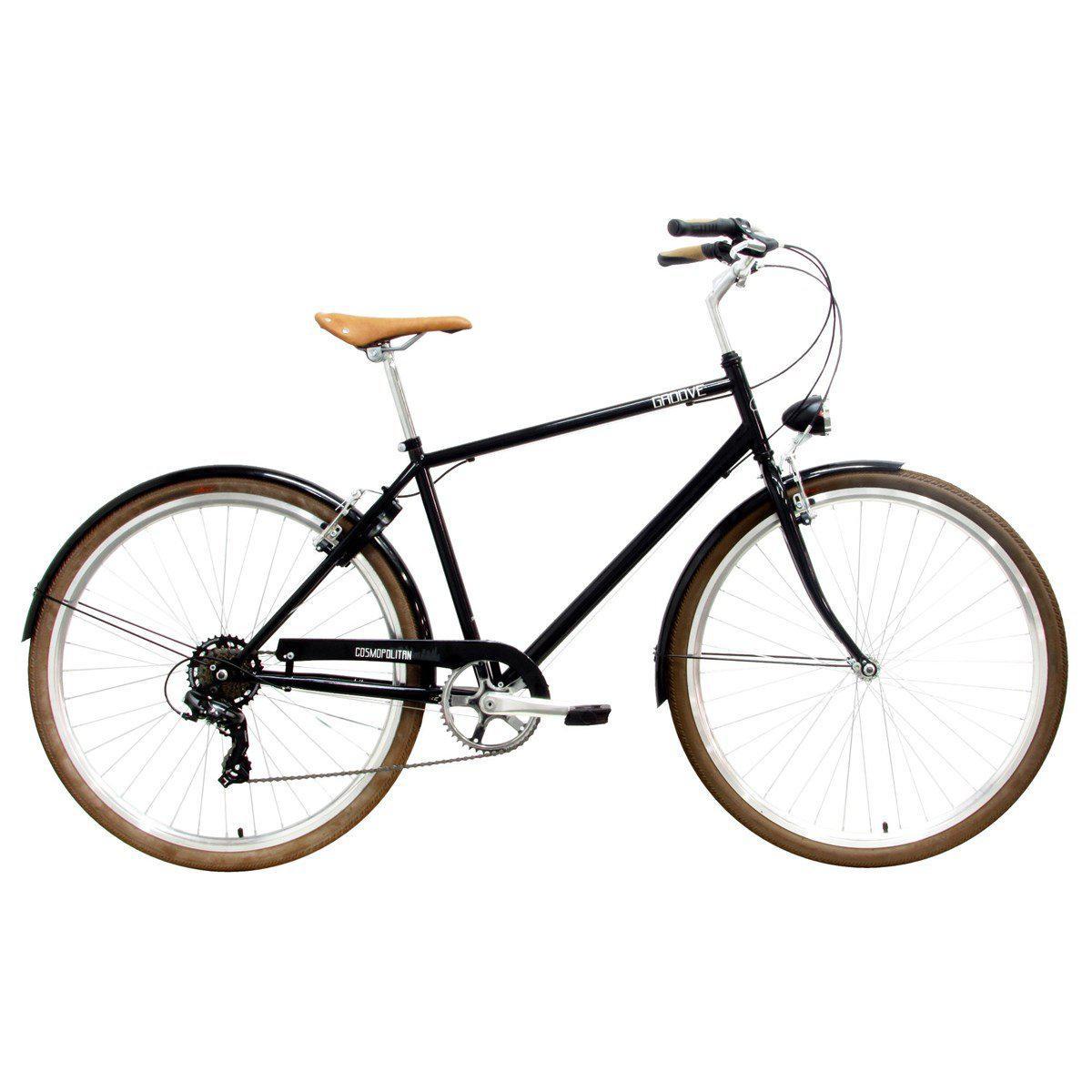 0e5f2a193 Bicicleta urbana groove cosmoplitan aro 700 2019 - preta R$ 1.399,00 à  vista. Adicionar à sacola