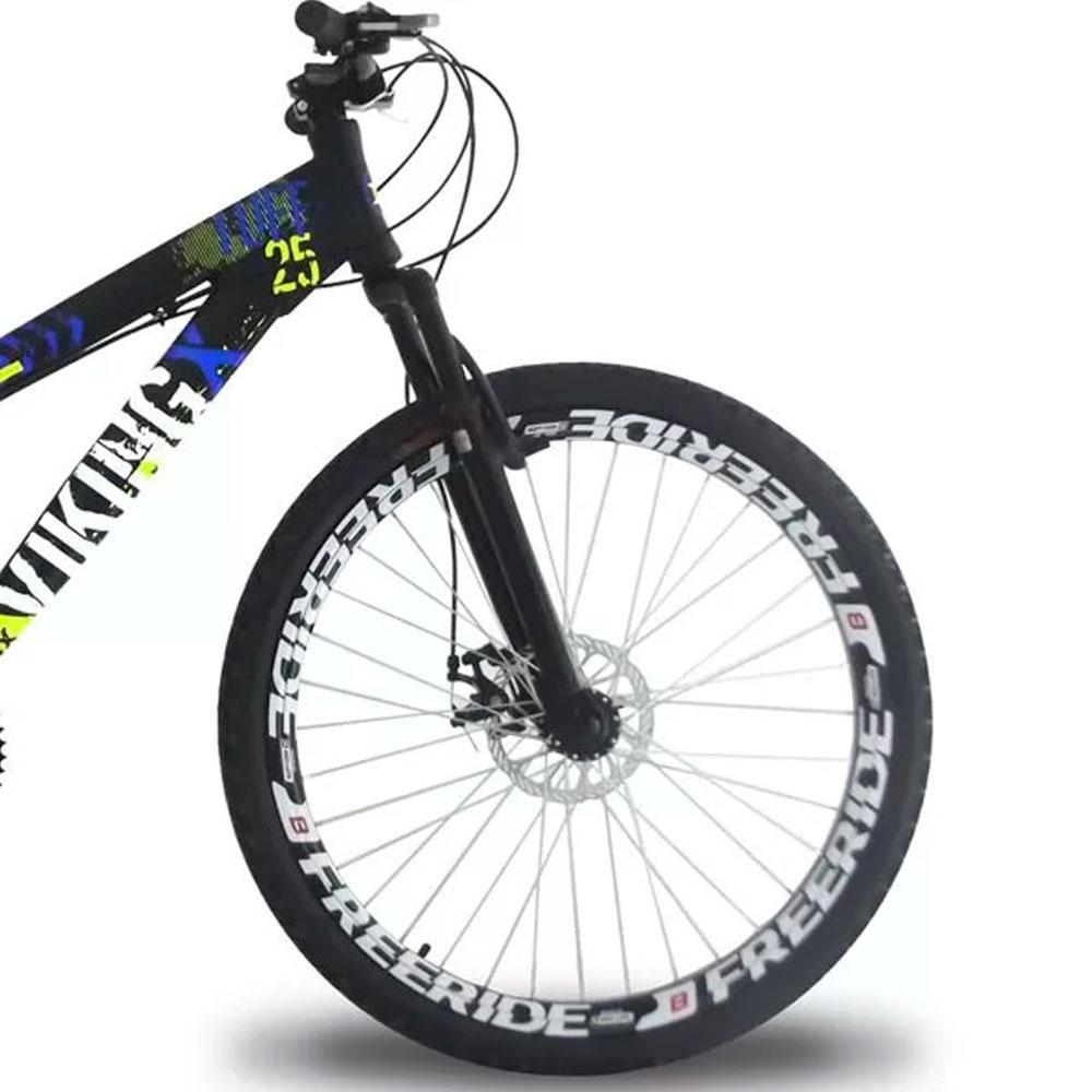 c06620b150 Bicicleta Vikingx Tuff 25 Freeride Aro 26 Freio À Disco 21 Marchas R   1.199