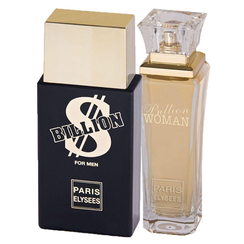 fd07bc8ad Billion Paris Elysees - Unissex - Eau de Toilette - Kits de Perfumes  Produto não disponível