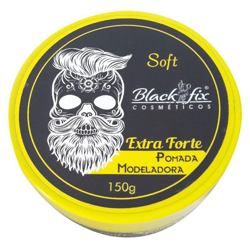 Black Fix Pomada Modeladora Soft Extra Forte