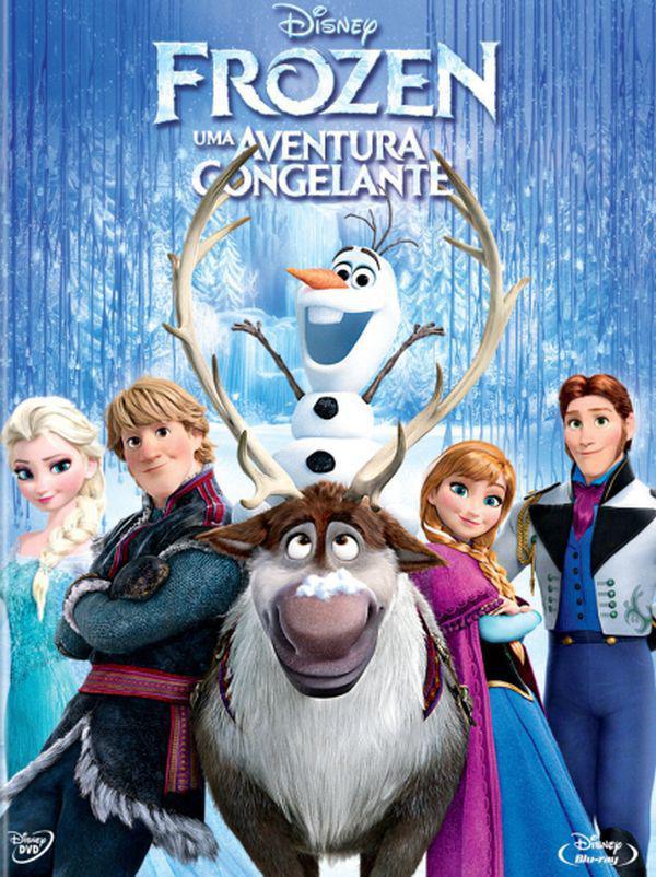 Blu Ray DVD Frozen Uma Aventura Congelante 2 Discos - Disney - Filmes de  Animação - Magazine Luiza