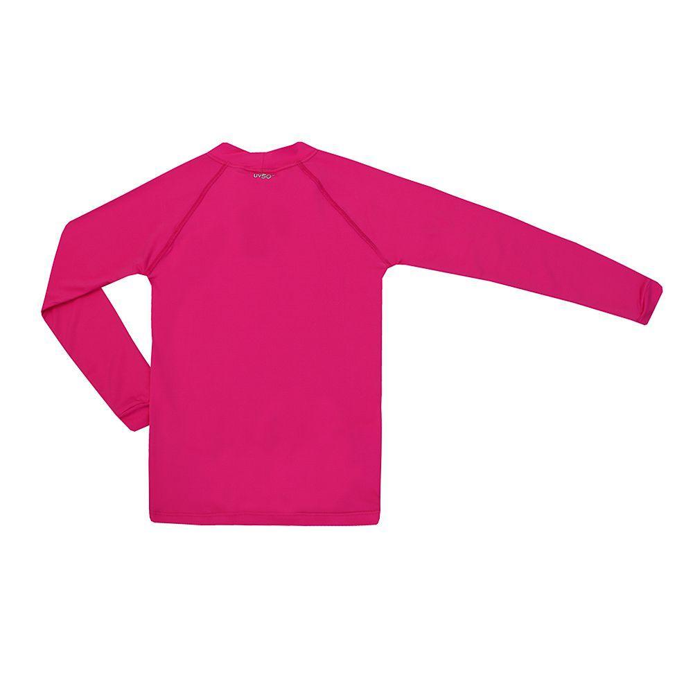 Blusa Kids Proteção UV 50+ Rosa Pink - Siri - Camiseta e Blusa ... a0fa7ae1a62