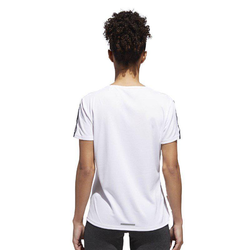 d6c9739b8aa Blusa manga curta adidas run 3s tee branco - Conjunto Bermuda e ...