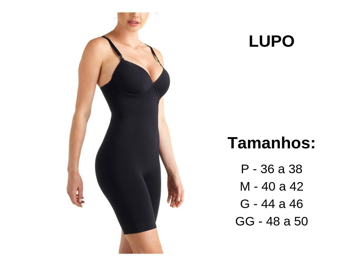 002187905 Body Com Bojo Loba Slim Levanta E Sustenta Compressão Lupo R  119