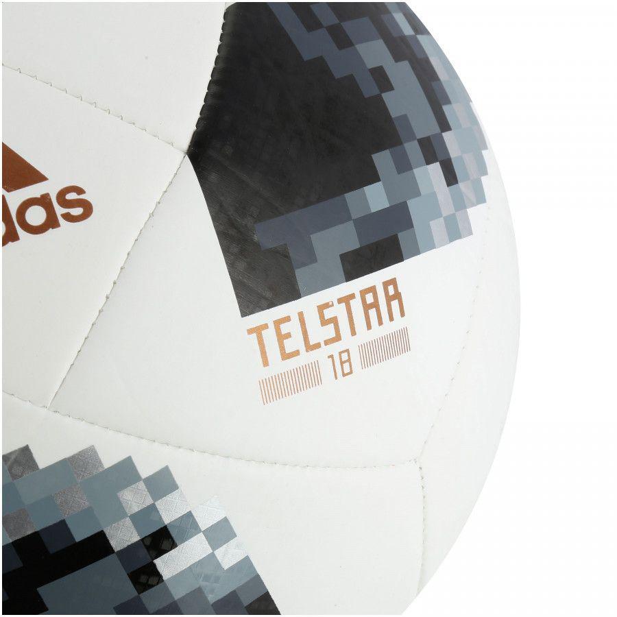 Bola de Campo Adidas Telstar Top Glider Copa do Mundo 2018 - Bolas ... 3eb5ebe491ba5