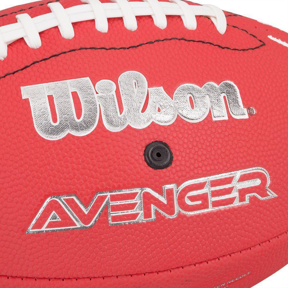 Bola de Futebol Americano - Infantil - Avenger NFL - Vermelha - Wilson R   69 16d64c6c0aac3