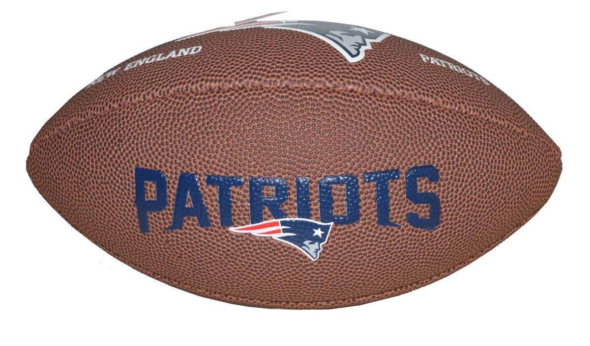 6ba920a281 Bola de Futebol Americano NFL Team Jr. New England Patriots - Wilson  Produto não disponível
