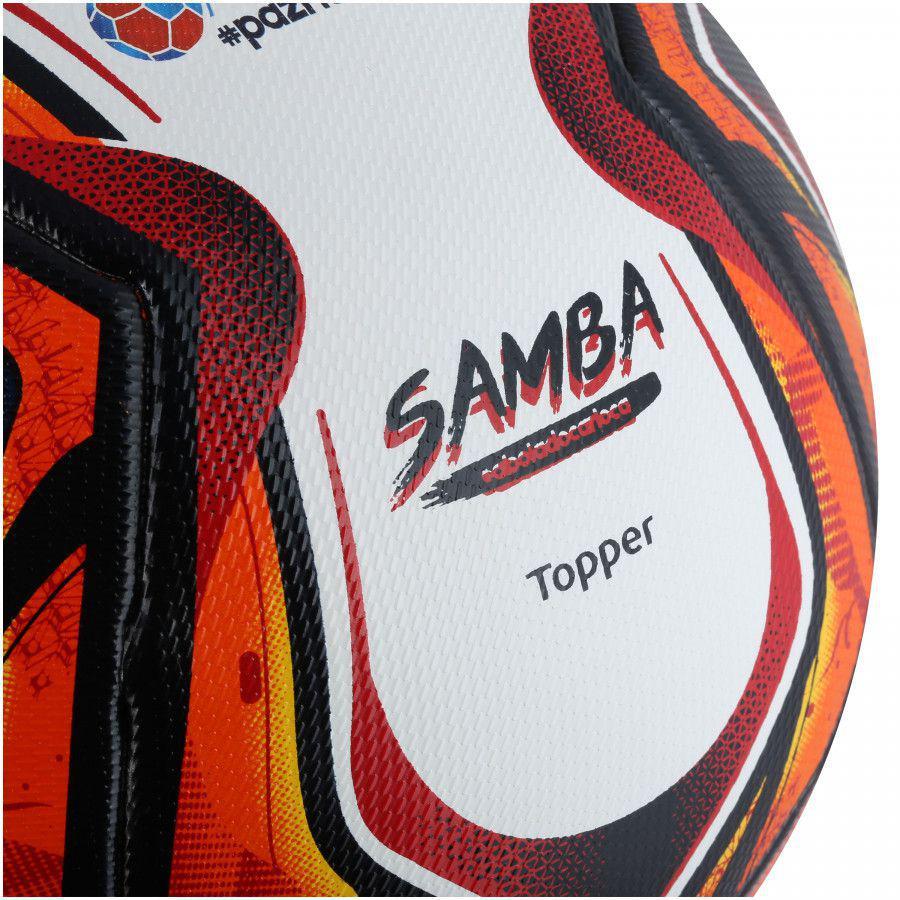 12aba3d2e7db6 Bola de Futebol de Campo Velocity Pro Samba 2018 - Topper - Bolas ...