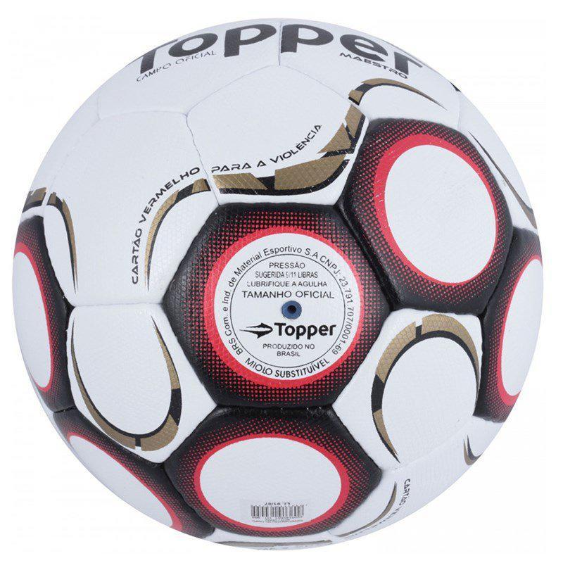 Bola de Futebol Topper Campo Maestro TD1 - Bolas - Magazine Luiza e00949ea638a9