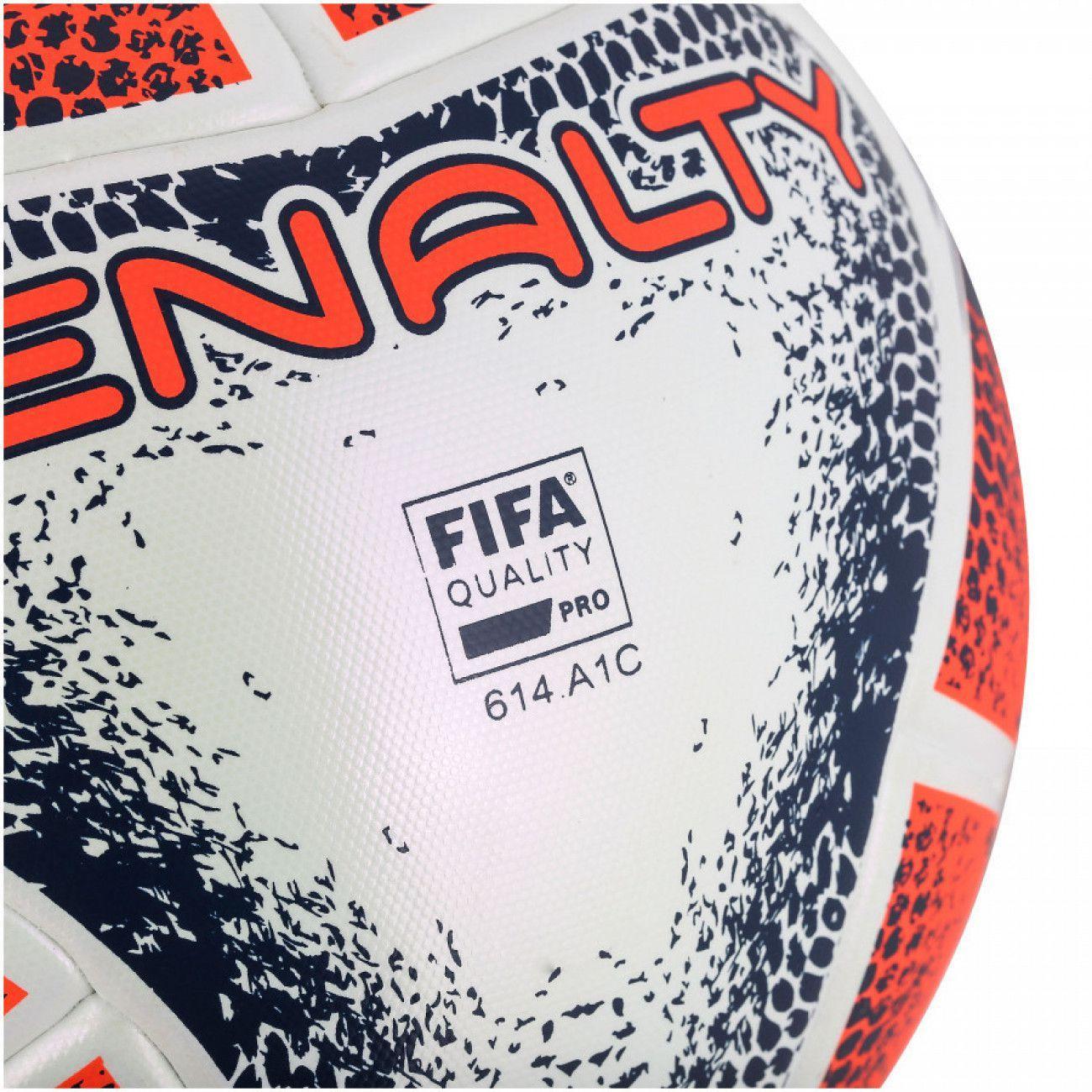 ee61a6a9b Bola de Futsal Profissional Max 1000 Termotec Alaranjada Penalty R  254