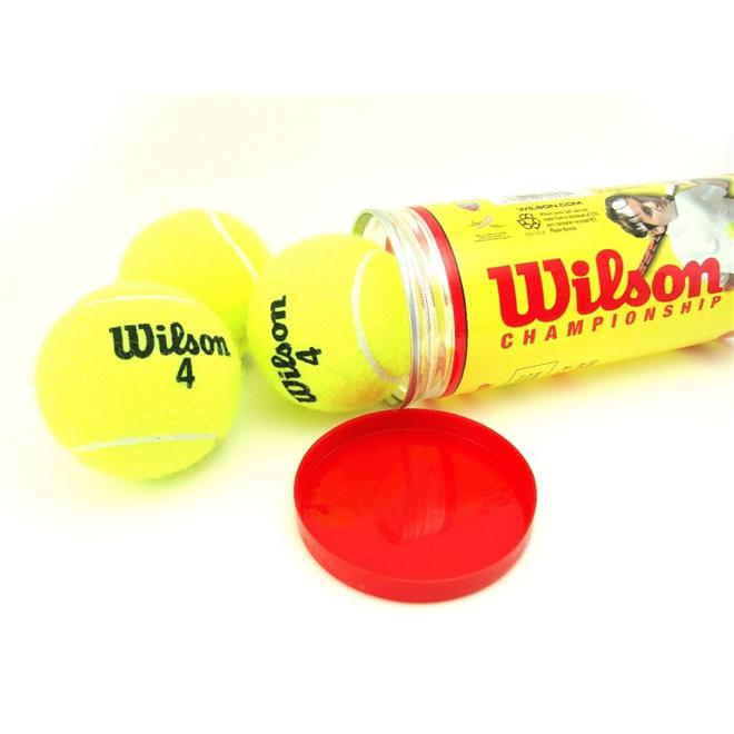ec0065ec2 Bola De Tenis Wilson Championship - Pack 09 Bolas - 03 Tubos R  117