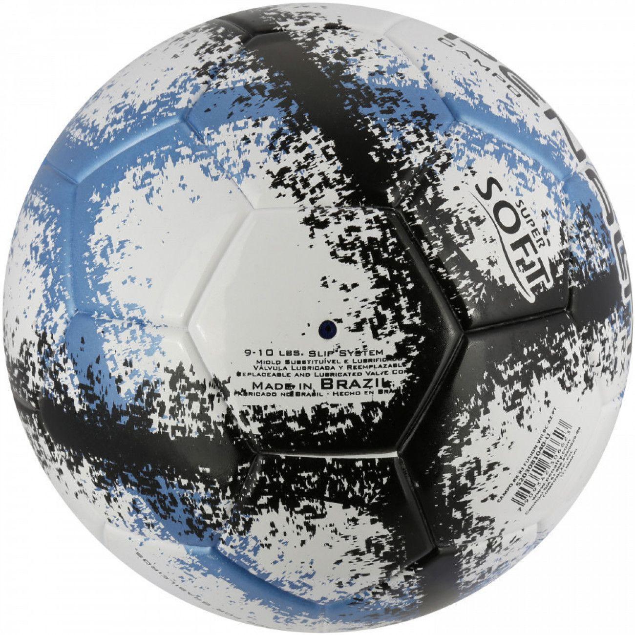 Bola Futebol de Campo Rx R3 Soft Ultra Fusion Azul Penalty - Bolas ... 3a57b1c38044f