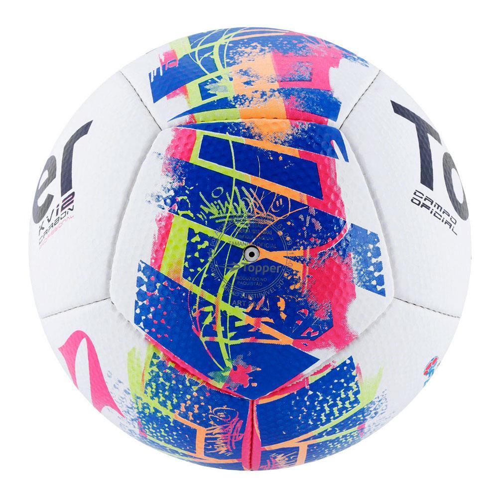 Bola Futebol De Campo Topper Kv Carbon 12 Rj 15 - Bolas - Magazine Luiza 01822b490a62d