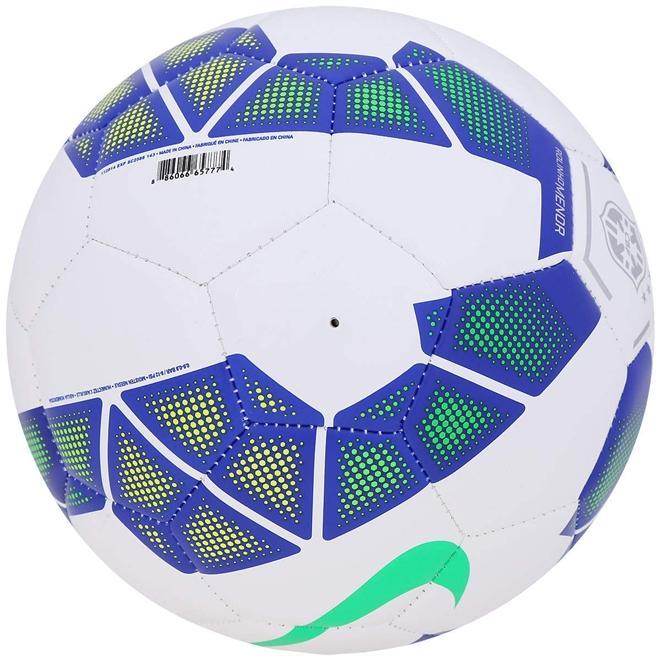 fc61f1e1d3 Bola Futsal Nike Menor CBF SC2586-143 - Branco Azul Verde Produto não  disponível