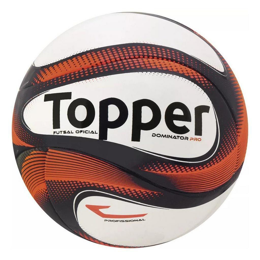 eb53af0309217 Bola Futsal Topper Dominator Pro - Bolas - Magazine Luiza