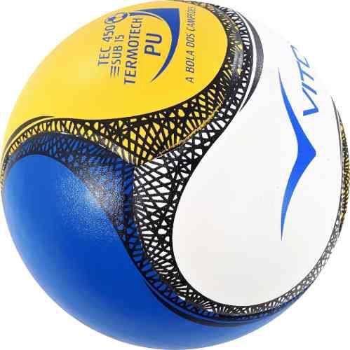 c86ddd8cfb Bola Futsal Vitoria Termotec Sub 15 Kit Com 3 (13 A 15 Anos) - Vitoria  esportes R  159