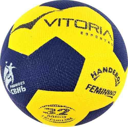 77678b0a6b Bola Handebol Oficial Vitoria Grip H2l + Bomba De Ar - Vitoria esportes R   89