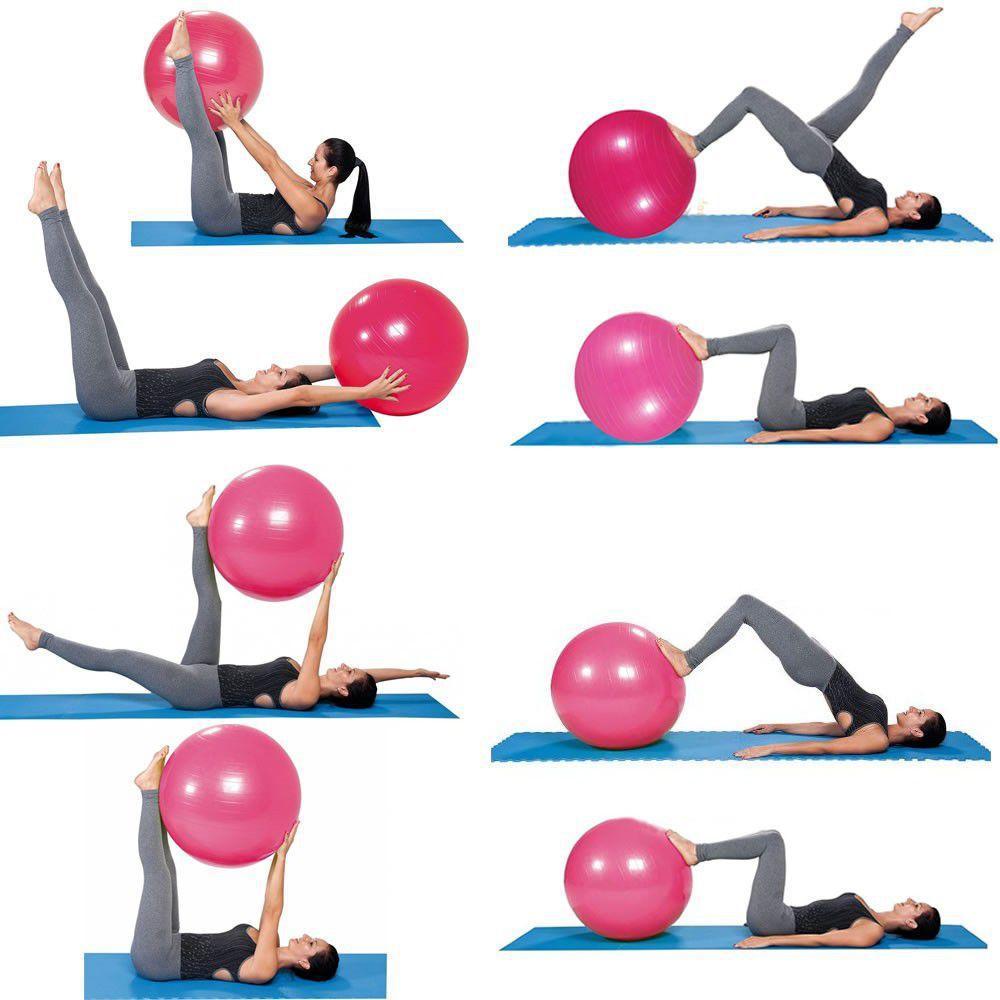 1924ce4c59 Bola Yoga Pilates Fitness Suíça 75cm-L com Bomba CBR01071 - Adventure  brasil R  64