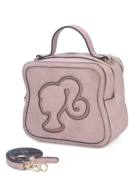e2814c02c7c9 ... Bolsa Barbie Alça Mão Transversal Rosa Nude Nota Fiscal Orig. 1; 2; 3