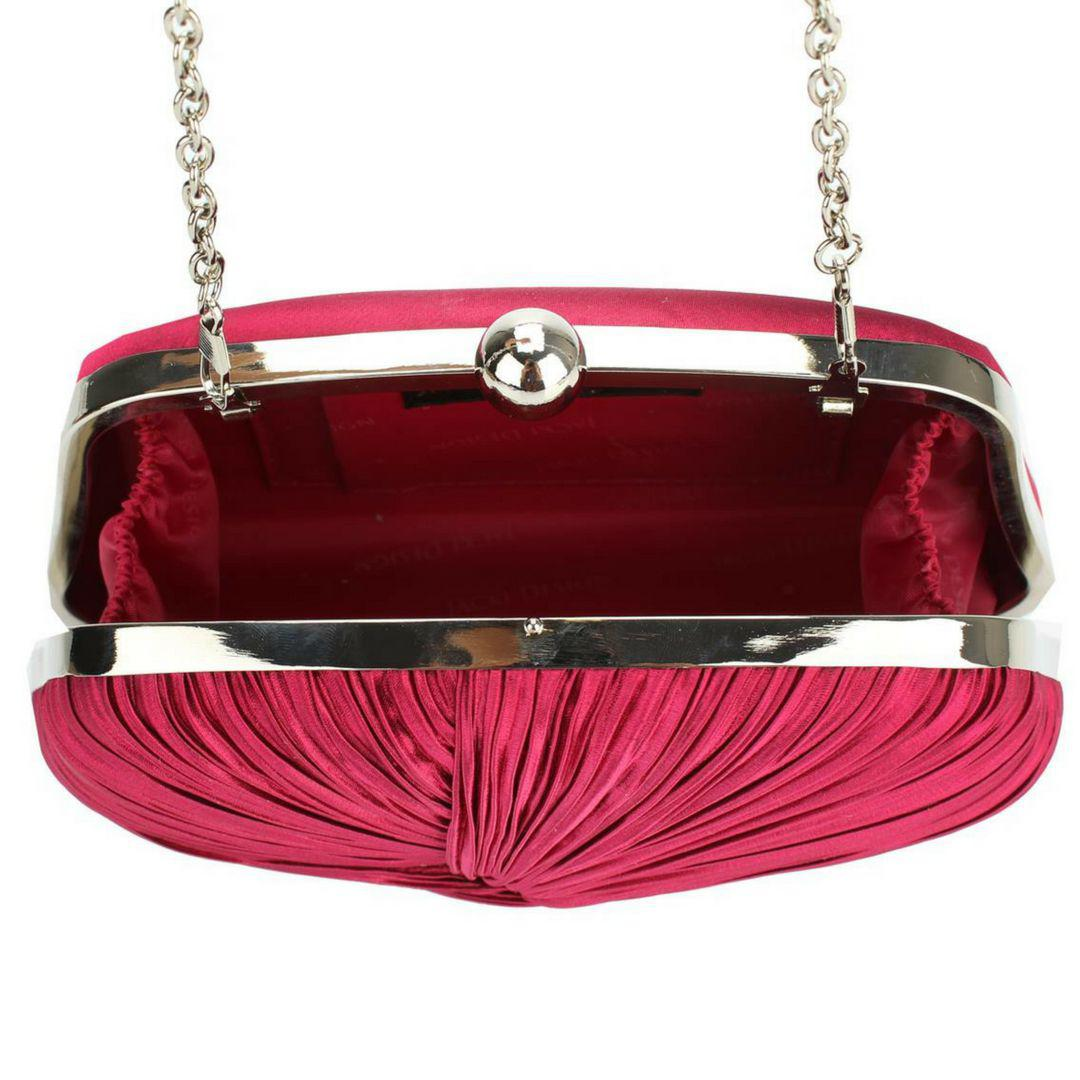 2441b117886aa Bolsa Clutch Festa de Mão Rosa - Minha nova biju R$ 137,00 à vista.  Adicionar à sacola