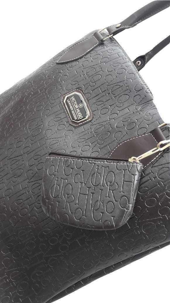 8f6124d8c Bolsa Feminina Mão Ombro Transversal Victor Hugo Texturizada - Generico R$  59,90 à vista. Adicionar à sacola