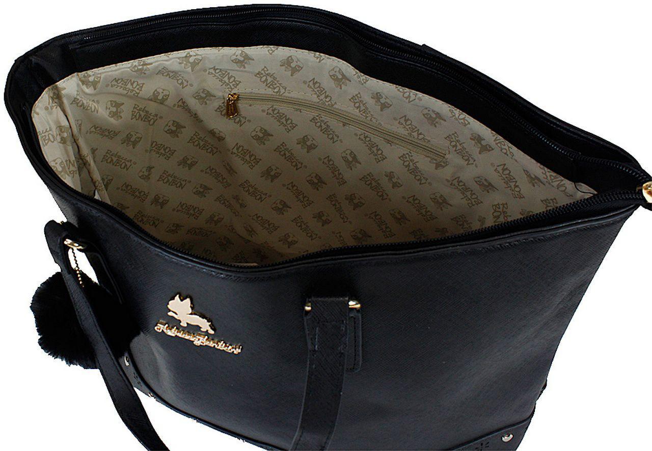 0db534835 Bolsa Feminina Rebecca Bonbon Original Lado Grande Preta Tote Bag Semax R$  108,99 à vista. Adicionar à sacola