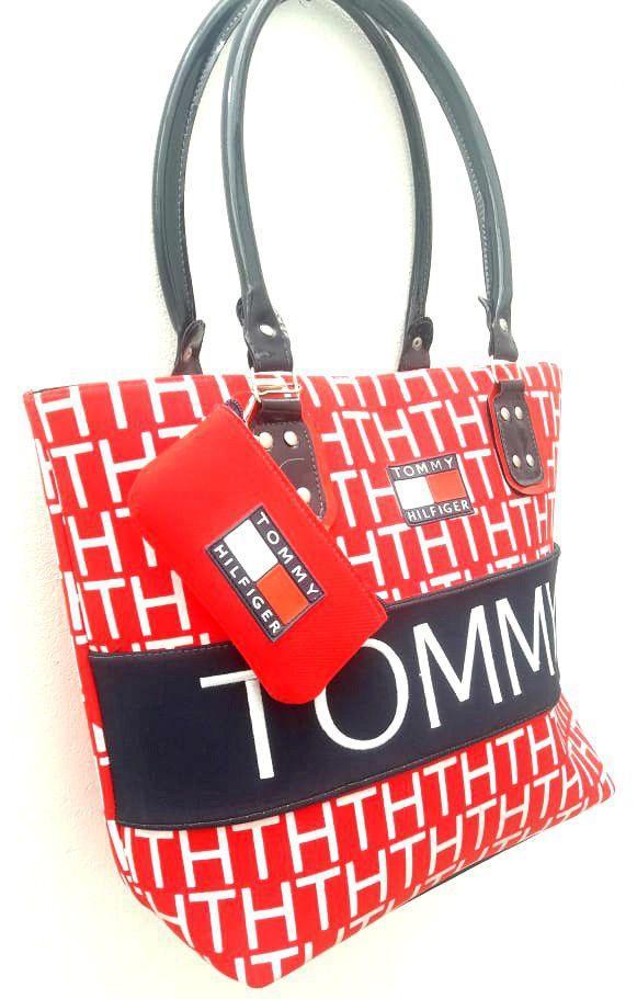 5da1c9193 Bolsa Feminina Tommy Hilfiger com Necessaire - Generico R$ 98,00 à vista.  Adicionar à sacola