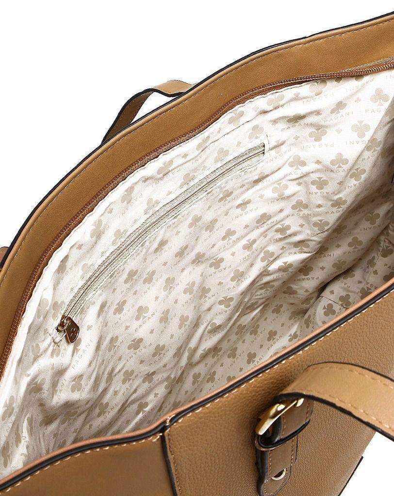 9d3a396a1 Bolsa Feminina Tote Bag Pagani Original Pvc Lado Semax R$ 89,99 à vista.  Adicionar à sacola