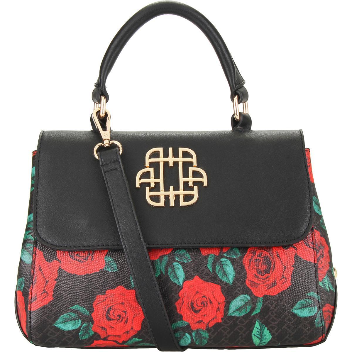 71a76ac2efd49 Bolsa Feminina Tote Rosas Ana Hickmann AHV189 - Bolsas e Sacolas ...