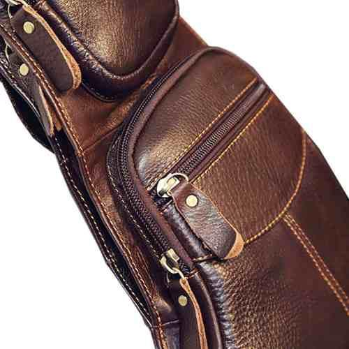 a1e59a8e5 Bolsa Masculina Transversal Couro Genuíno - Miranda shopping R$ 158,90 à  vista. Adicionar à sacola