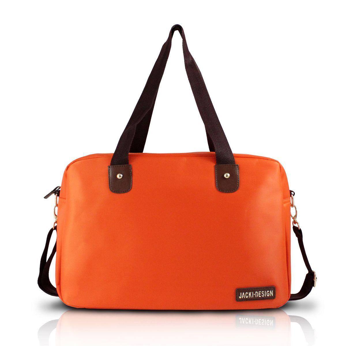 348ac06b6 Bolsa para viagem academia grande com alça regulável lisa jacki design  laranja R$ 76,88 à vista. Adicionar à sacola