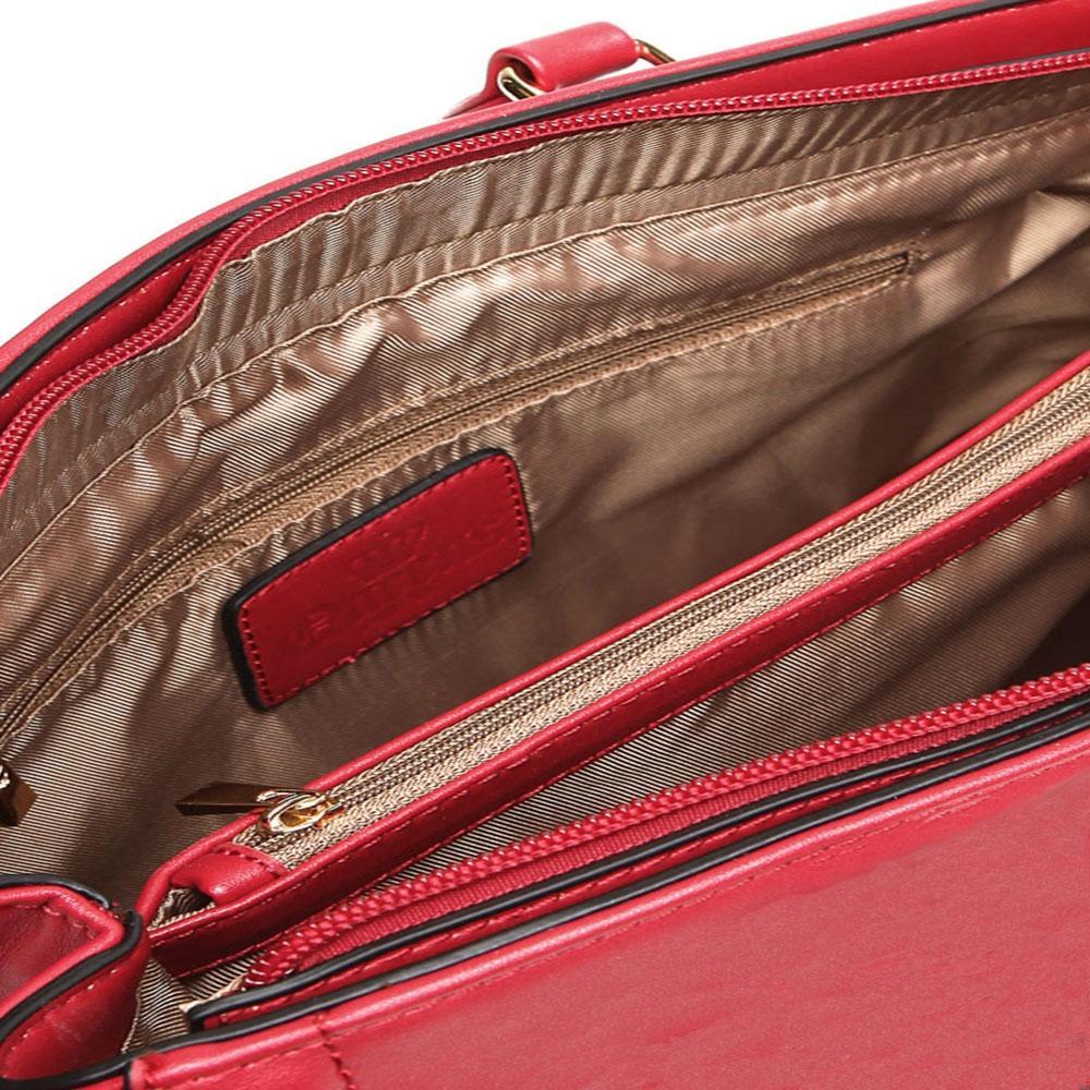71063ea9b Bolsa Queens Texturizada Croco com Alça de Mão R$ 219,90 à vista. Adicionar  à sacola