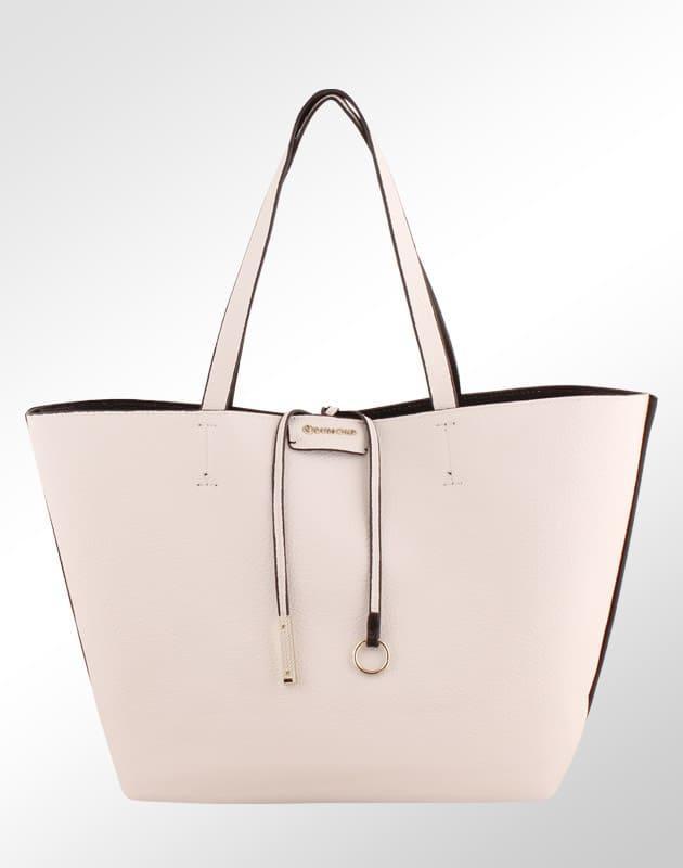ad2f56a7b Bolsa Shopper Reversível + Necessaire Dumond Feminina Preto Branco - Dumond  calçados Produto não disponível