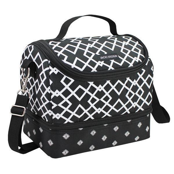a4069eb01 Bolsa Térmica com 2 compartimentos Bella Vitta Preta Jacki Design R$ 72,50  à vista. Adicionar à sacola