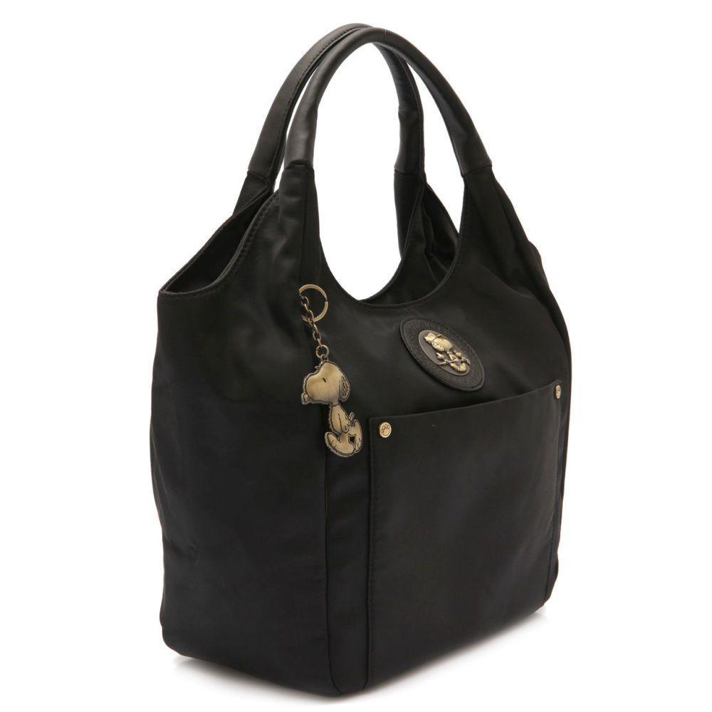 3c24299ae8d8d Bolsa Tote Bag Be Fancy Snoopy SP6803 Preta - Bolsas grandes ...