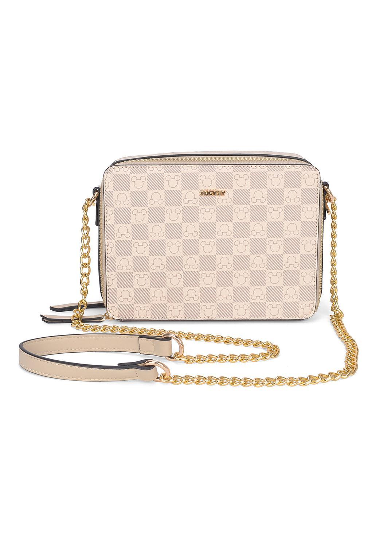 53aca17c9 Bolsa Transversal Feminina Mickey Luxcel R$ 209,55 à vista. Adicionar à  sacola