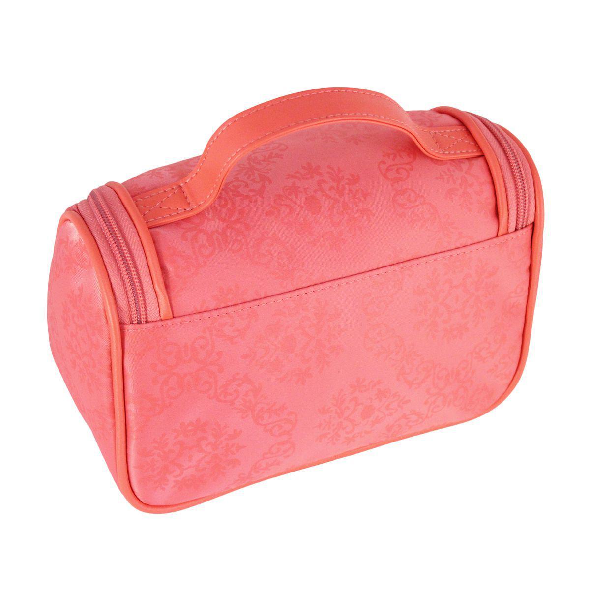 90fff7334 Bolsinha necessaire com gancho viagem academia estampa damasco jacki design  salmão R$ 36,04 à vista. Adicionar à sacola