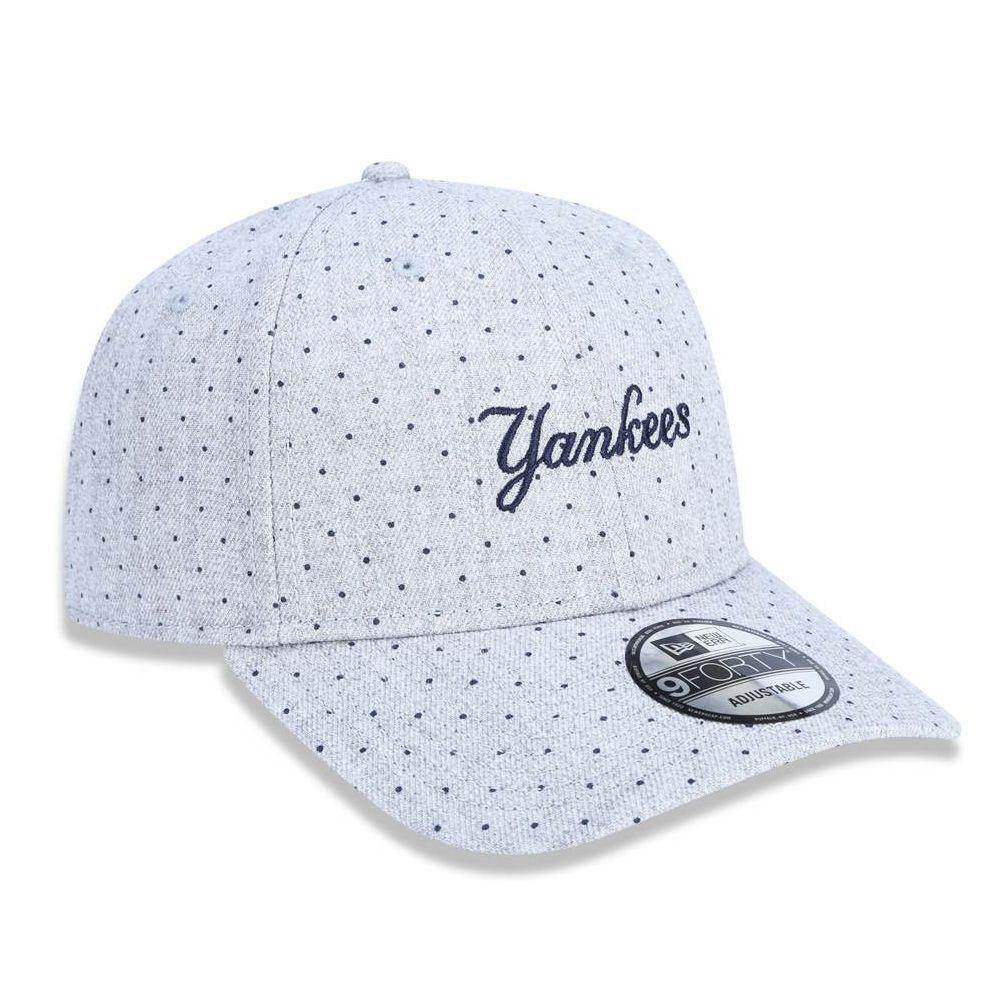 Boné Aba Curva Cinza 940 New York Yankees MLB - New Era - Boné e ... 6d5552c9c74