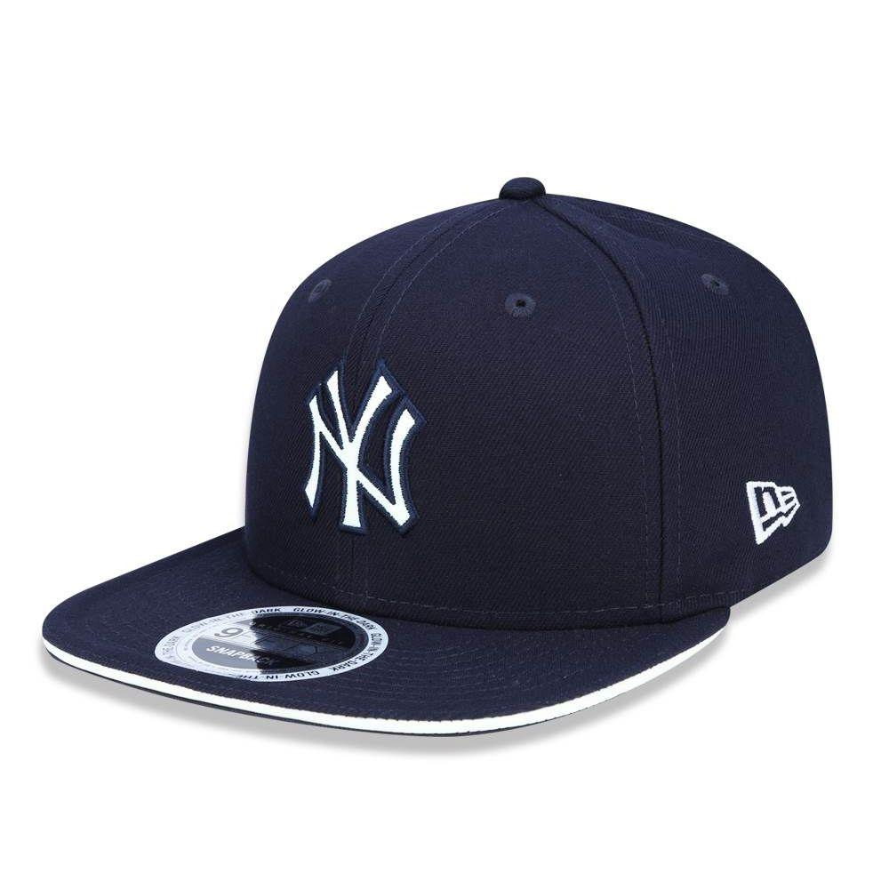 Boné Aba Reta Azul Marinho 950 Original FIt New York Yankees MLB - New Era R   189 2680c5e33dd