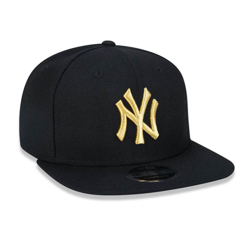 611760c08055c Boné Aba Reta Preto 950 Original FIt New York Yankees MLB - New Era - New  era R  209