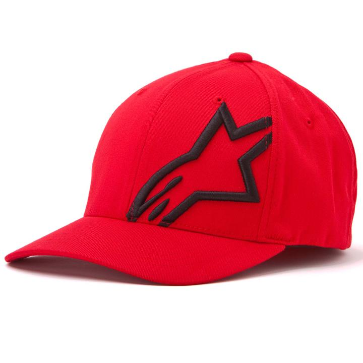 Bone alpinestars corp shift 2 flexfit vermelho preto - Alpinestars ... a5765827c58
