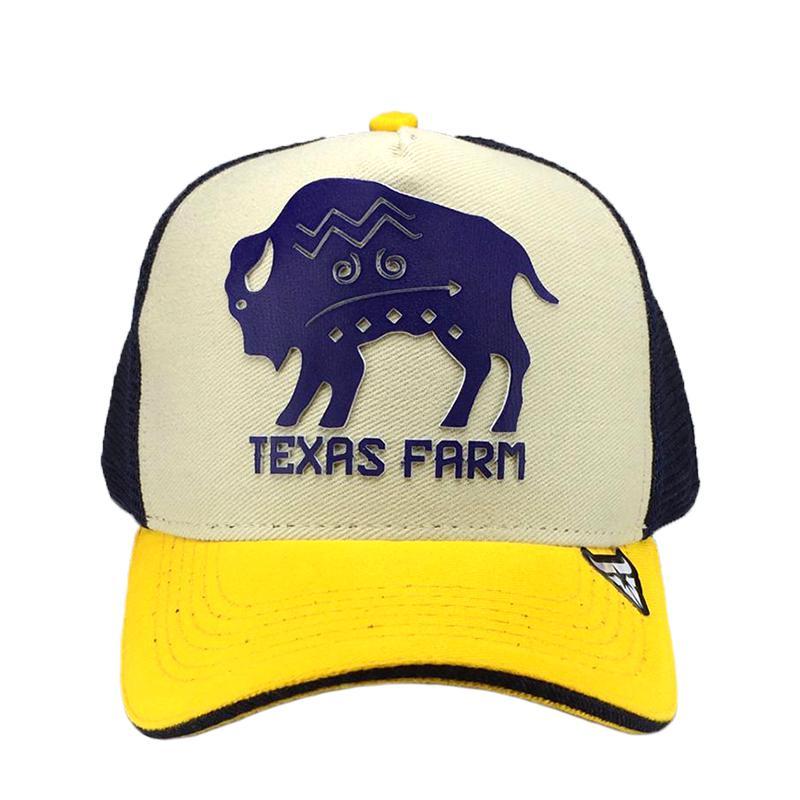 Boné Country Trucker de Telinha Infantil Texas Farm Bizon Produto não  disponível 9bf6075a017