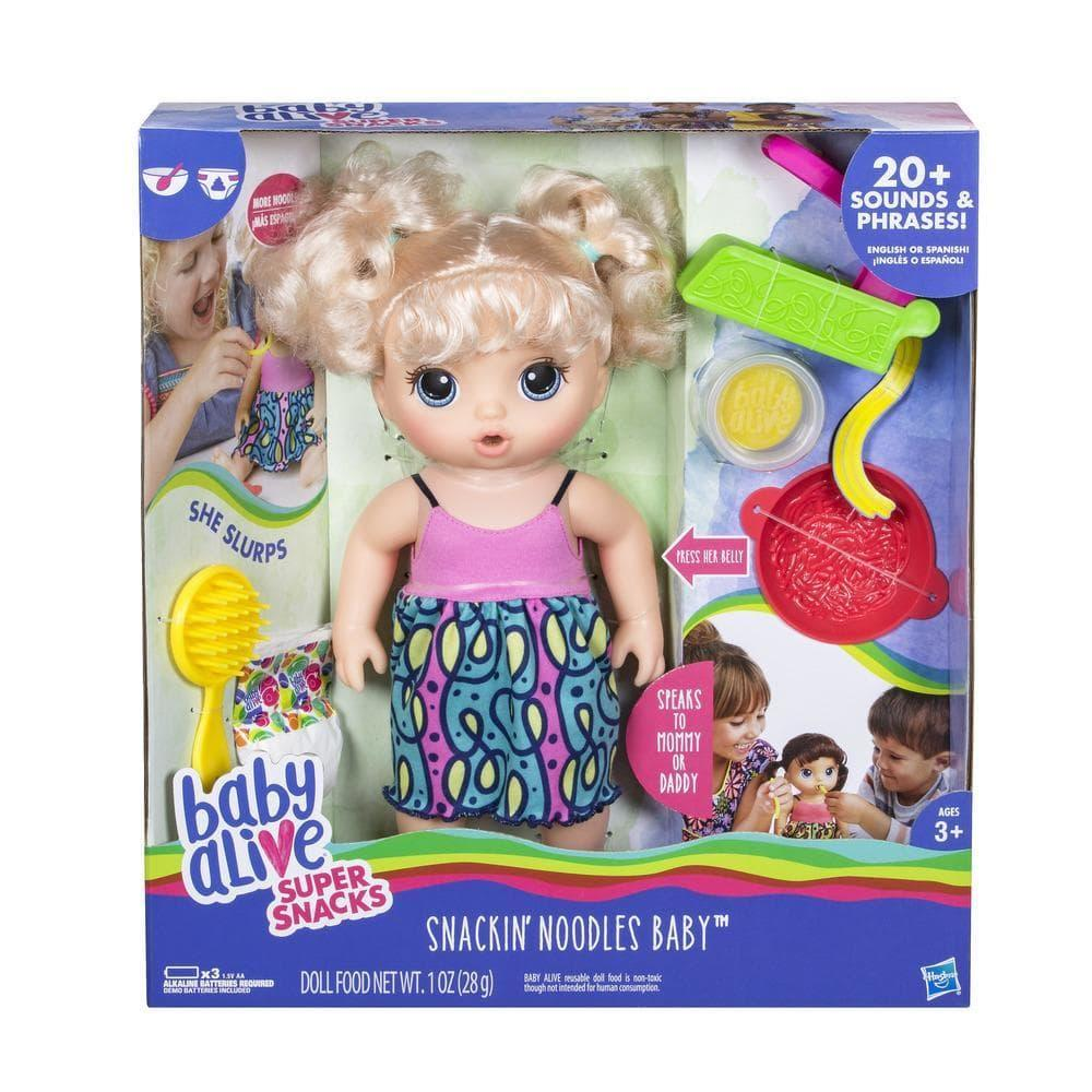 Boneca Baby Alive Adoro Macarr 227 O Loira C0963 Hasbro