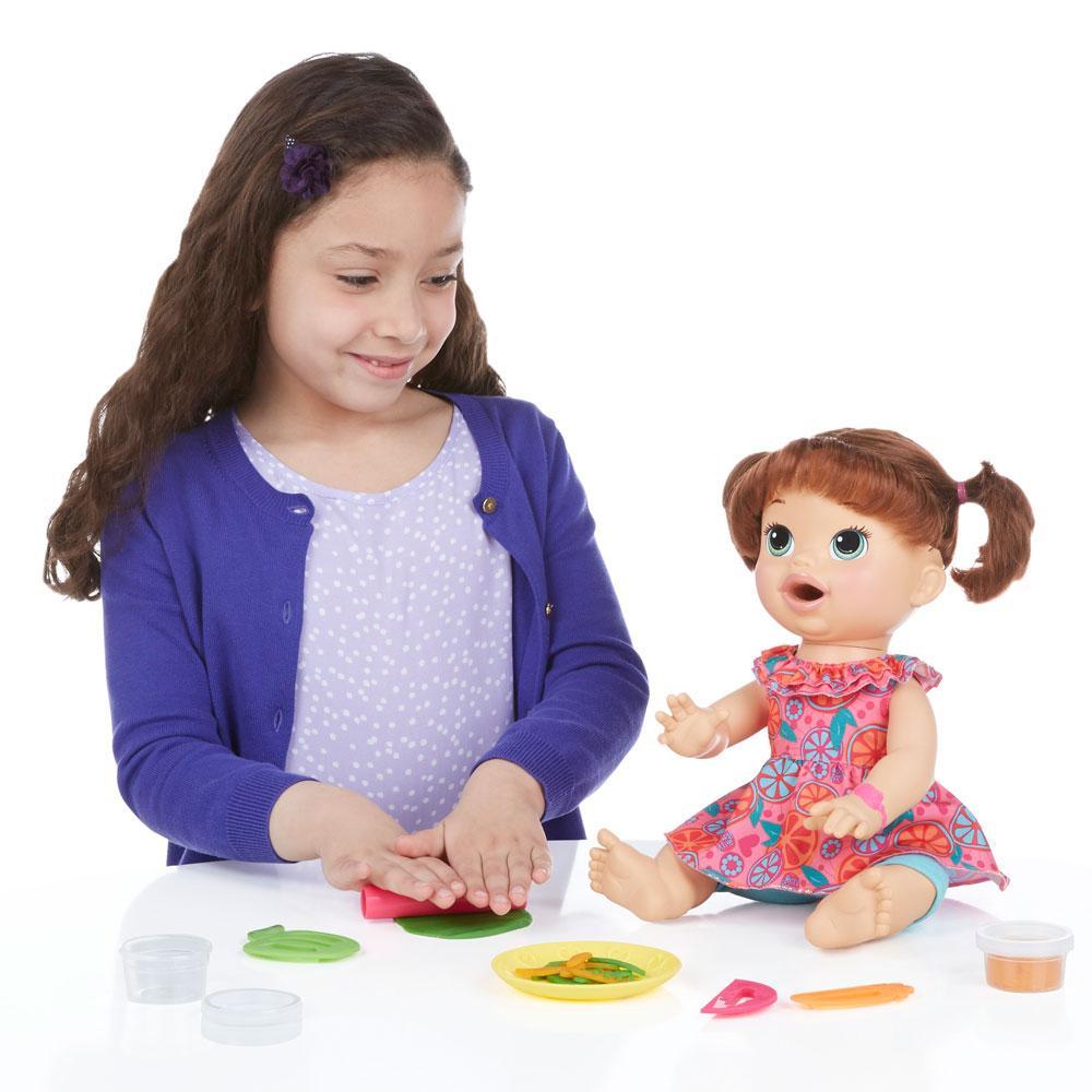 9094633b1b Boneca Baby Alive - Comilona - Morena - B0634 - Hasbro Produto não  disponível