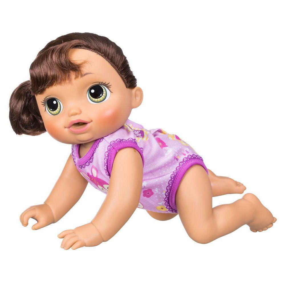 1bac49bb0a Boneca Baby Alive - Hora de Passeio Morena - Hasbro Produto não disponível