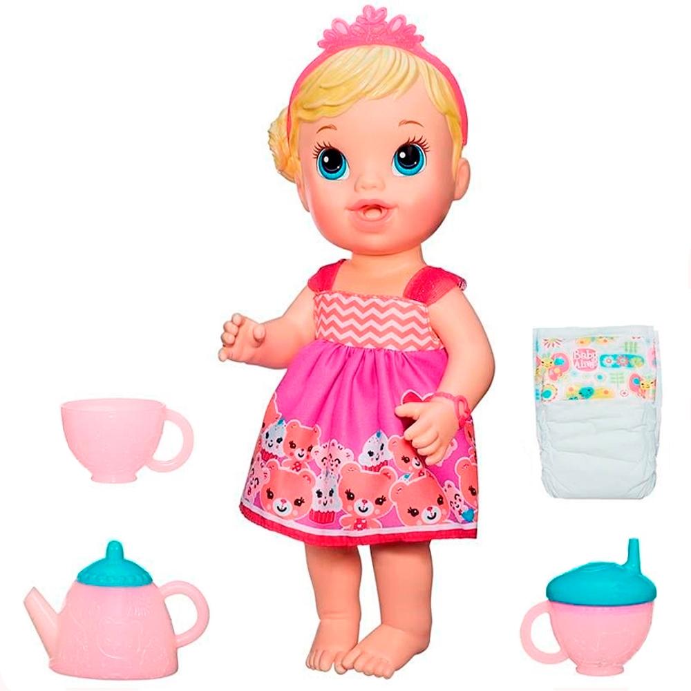 300eac276d Boneca Baby Alive Hora do Chá Loira A9288 - Hasbro Produto não disponível