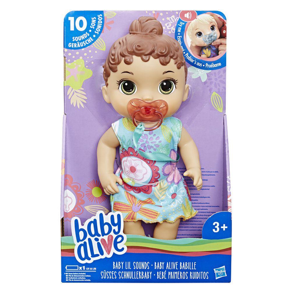 0585312109 Boneca Baby Alive - Primeiros Sons - Morena - Hasbro - Boneca Baby ...
